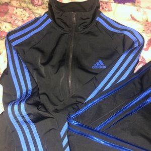 adidas track suit women's new